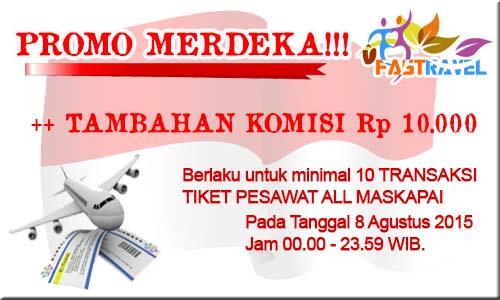 Tiket Promo Merdeka FASTRAVEL