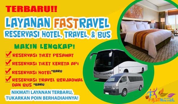 reservasi hotel dan travel
