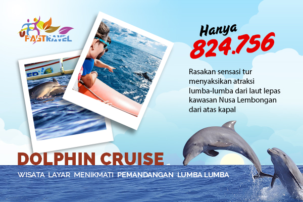 Menikmati Wisata Laut Nusa Lembongan Bersama Lumba-Lumba