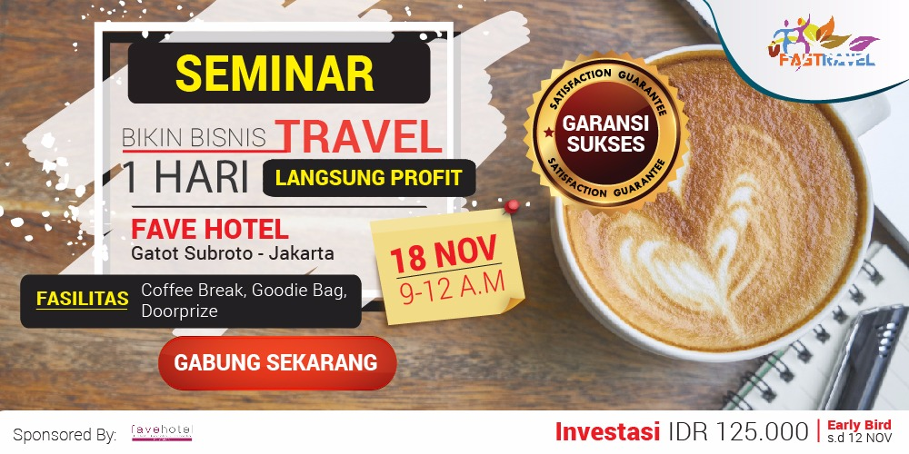 Seminar Bisnis Tour And Travel November 2017