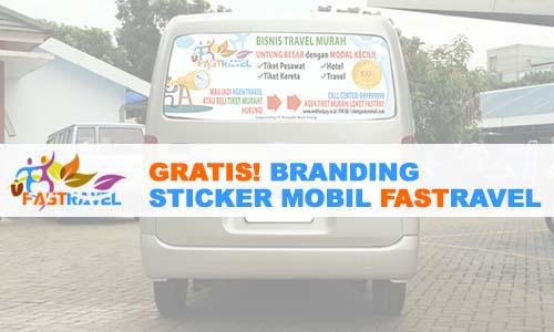 Sticker Mobil FASTRAVEL