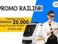 Promo railink 20000 juli 2017
