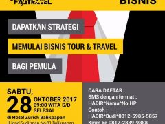Seminar Peluang Lowongan Kerja Travel Balikpapan