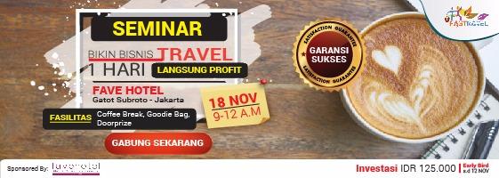 Bisnis Travel 1 Hari Langsung Profit