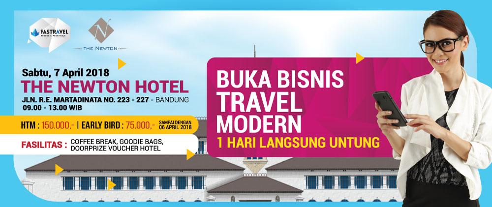 Seminar Bisnis Tour & Travel di Bandung 2018