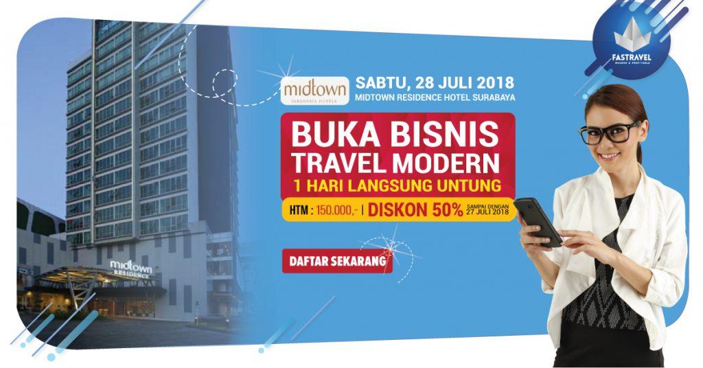 Seminar Bisnis Tour & Travel di MidTown Surabaya 2018